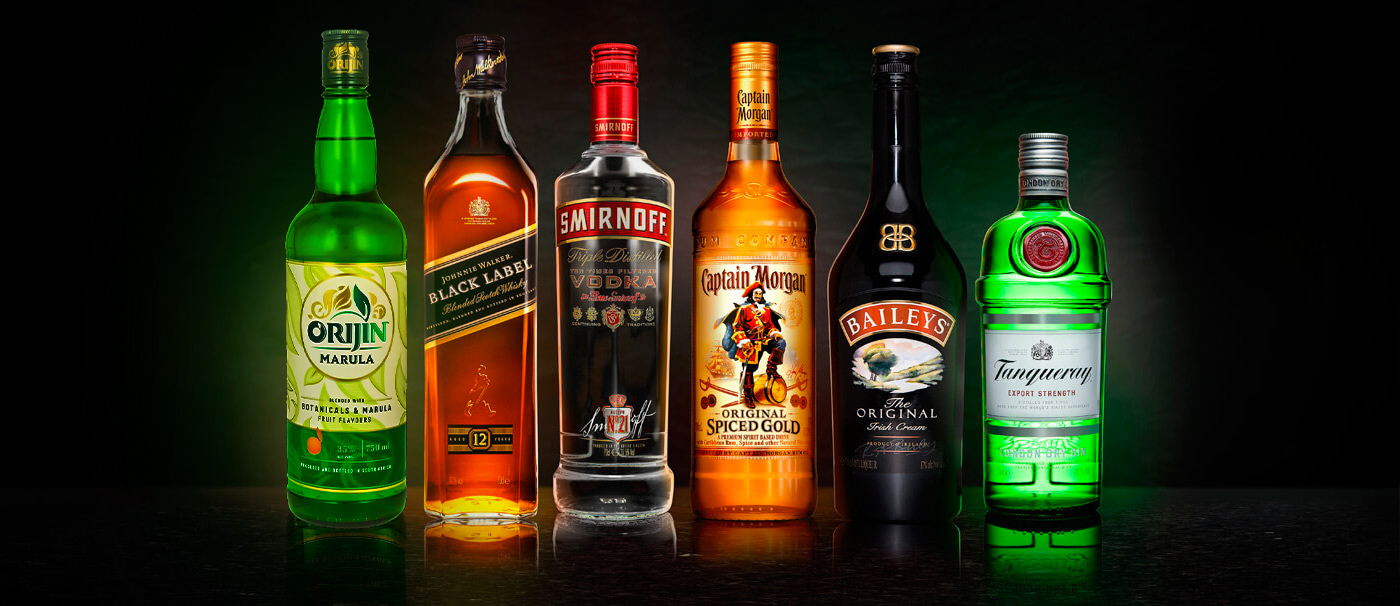 Our business: Popular Diageo brands